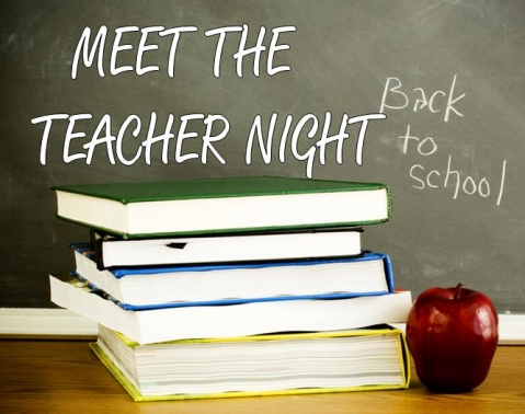 Back To School Night Aug. 21st, 4-6