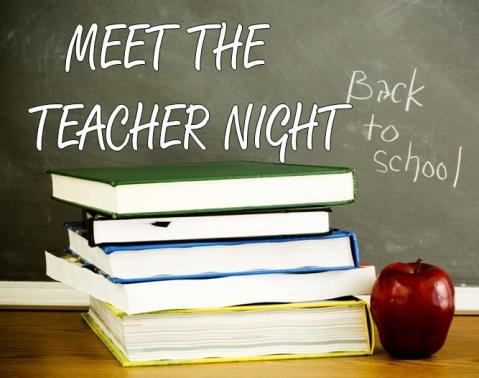 Back To School Night Aug. 21st, 4-6